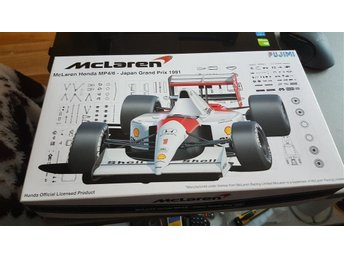 Mclaren Mp4/6 1/20 Japan Gp Fujimi Special plus bonus