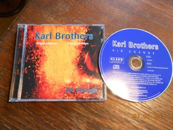 KARL BROTHERS - Air Change, CD Slask 1994 Jörgen & Tommy Adolfsson