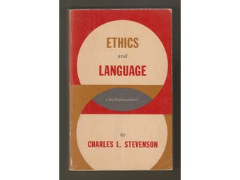Stevenson, Charles L.: Ethics and Language.
