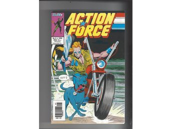 Action Force 5,6 1990 skick vf