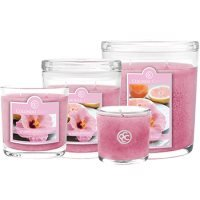 Colonial Candle Large- Grapefruit Hibiscus