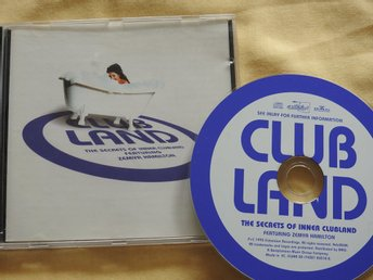 Clubland Featuring Zemya Hamilton ‎– The Secrets Of Inner Clubland CD