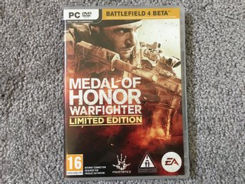 Medal of honor Warfighter Limited edition till PC
