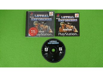 Lethal Enforcers Playstation PSone ps1