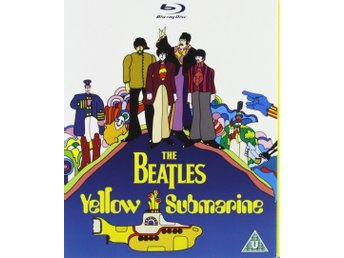 The Beatles - Yellow Submarine. Blu-Ray. NY & inplastad! Svensk text. Utgått!