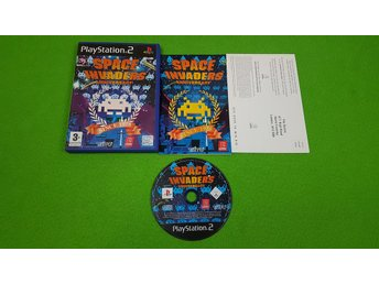 Space Invaders Anniversary KOMPLETT PS2 Playstation 2