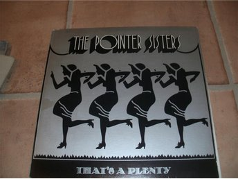 Pointer sisters-Thats a plenty  LP