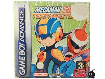 Megaman Battle Network 5 Team Protoman (inkl. Skyddsbox)