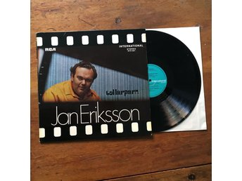 Jan Eriksson - Tollarparn LP | svensk jazz | NEAR MINT