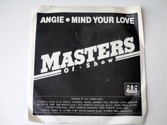 "Masters Of Show / Angie - Mind Your Love 7"" 1978"
