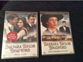 2 st DVD FILM - BARBARA TAYLOR BRADFORD - Filipstad - 2 st DVD FILM - BARBARA TAYLOR BRADFORD - Filipstad