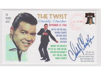 50th ANNIVERSARY OF THE TWIST CHUBBY CHECKER FDC