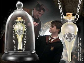 Harry Potter Halsband och display Felix Felicis