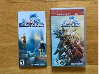 Final Fantasy Tactics - The War of the Lions - komplett PSP Playstation FF