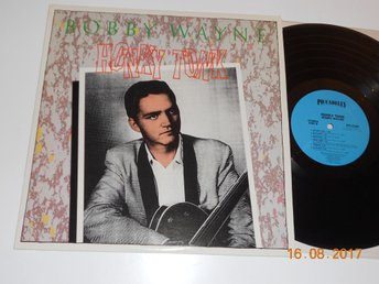 BOBBY WAYNE - Honky Tonk, LP Pickadilly USA 1980 Rockabilly