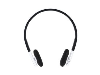 Hörlurar Headset Bluetooth - Vit