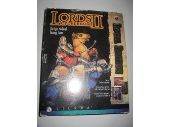 Lords II Of The Realm Royal Edition Pc Big box rare ovanligt