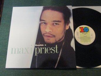 """Maxi Priest """"Bonafide"""" - Skärblacka - 1990 Ten Records 210 797 Skick: Vinyl: VG / Omslag: VGSamfraktar: 2-3 LP 72 Kr, 4-25 LP 84 kr i porto - Skärblacka"""