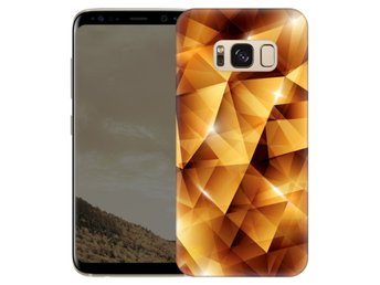Samsung Galaxy S8 Skal Golden Polygons
