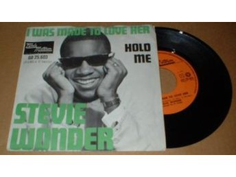 "WONDER, STEVIE I WAS MADE TO LOVE HER 7"" Vinyl"