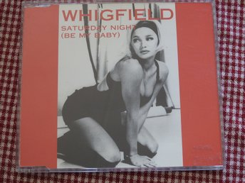 Whigfield -  Saturday Night (Be my baby) CD Single 1994 Euro House