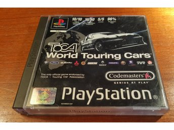 Toca World Touring Cars - PS1 / Playstation 1