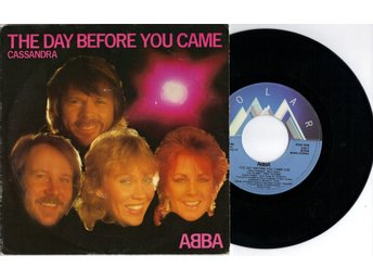 "ABBA - The Day Before You Came 7"" Singel"