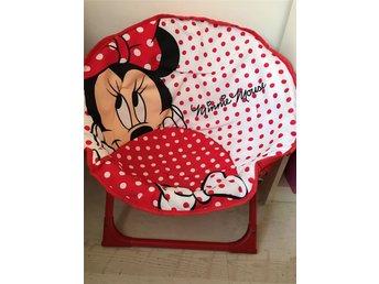 Minnie Mouse Stoel : Disney minnie mouse stol  ᐈ köp på tradera