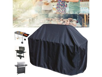 163x61x122cm Black BBQ Grill Barbecue Waterproof Covers Y...
