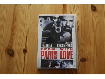 DVD From Paris with love John Travolta