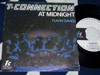 "T-CONNECTION - AT MIDNIGHT 7"" 1979"
