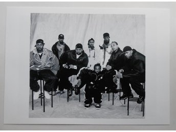 WU-TANG CLAN - Group portrait, NYC 1997 - Berg - *A4*-print NME!