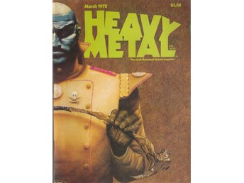 HEAVY METAL ADULT FANTASY MAGAZINE MARCH 1978