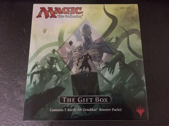 Battle for Zendikar Holiday Gift Box Oöppnad! MtG Magic the Gathering