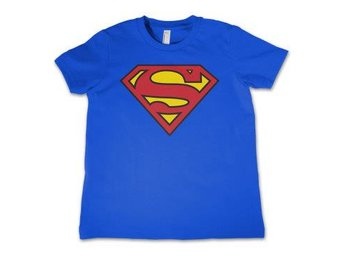 Superman T-shirt Logo Barn 6 år