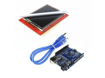 UNO R3 ATmega328P Mikrocontroller + 2.4 Inch TFT LCD Touch Screen Display