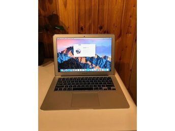 Macbook Air 13 - Core i7 - 8GB RAM - 512GB Flash Minne  - Office 2016