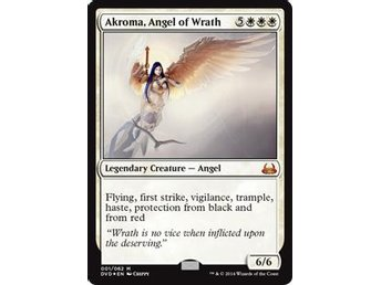 Akroma, Angel of Wrath FOIL - DD: Anthology - NM/M - English
