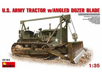 Miniart 1/35 US Tractor D7 w/Angle Dozer Blade