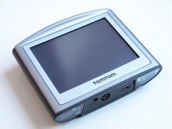 Tomtom One GPS Scandinavia portabel navigation satellitnavigationssystem