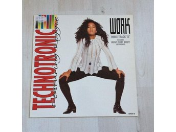 TECHNOTRONIC (FEATURING REGGIE) - WORK. (MVG MAXI)