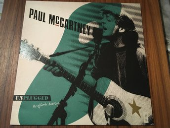 Paul McCartney - Unplugged (The Official Bootled) Rare numrerad, Beatles.