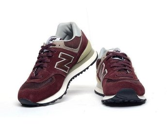 New Balance 574 strl 41 - Wine Red nya