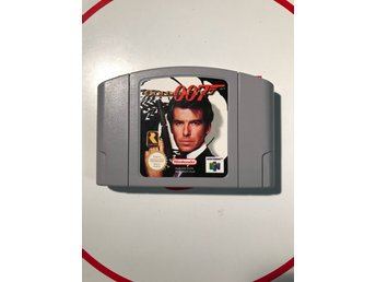 James Bond 007 Golden Eye N64 Nintendo 64 Fint skick EUR