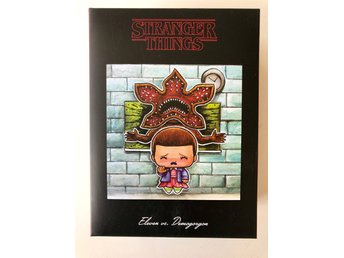Stranger Things - Eleven - Demogorgon
