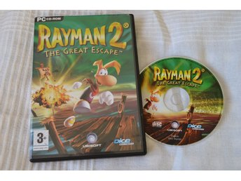 Rayman 2 The Great Escape PC Komplett Fint Skick