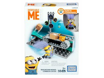 Mega Bloks Despicable Me Mailroom Mania