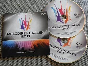 Melodifestivalen 2011- 2 CD (Dilba,Swingfly,Danny,The Moniker,Eric Saade)