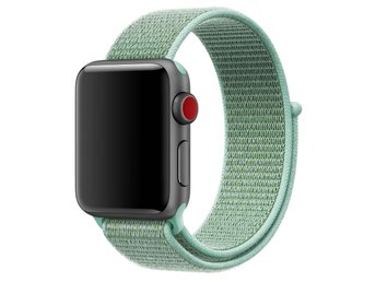 Nylon Loop 38mm Apple Watch Armband - (MINT)
