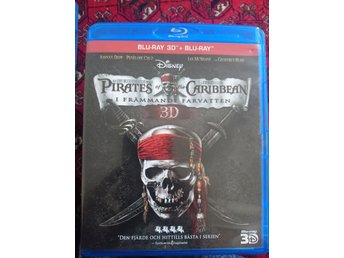 Pirates of the Caribbean I främmande farvatten.   3D